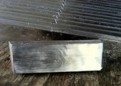 Overlapping lead brick