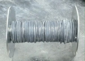 Coiled Lead Wire Extrusion