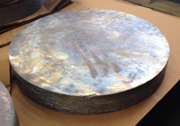 Custom Cast Lead Disc