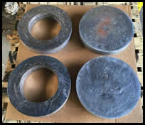 Lead Discs and Rings