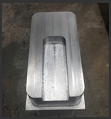 CNC machined lead part