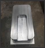 CNC machined lead part