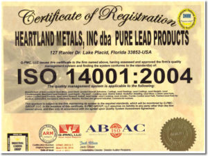 ISO 2004 Certification