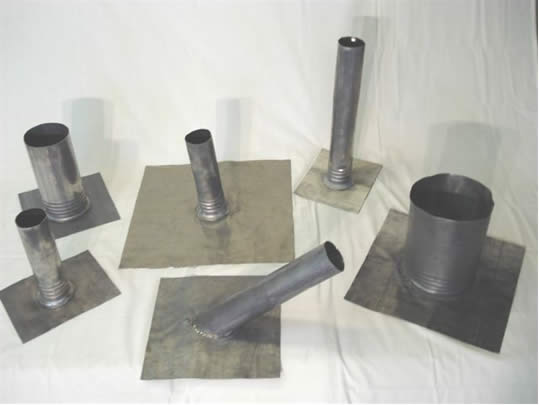 Lead Flashings Standard Sizes in Stock Ready to ship and Custom Available