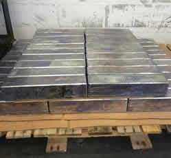 Flat Rectangular Lead Brick