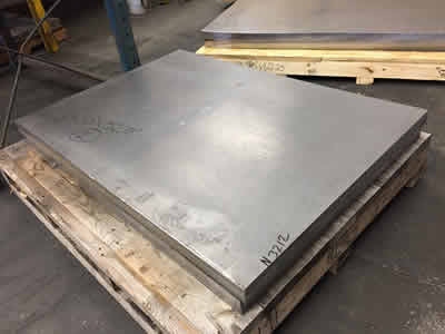 palleted lead plate