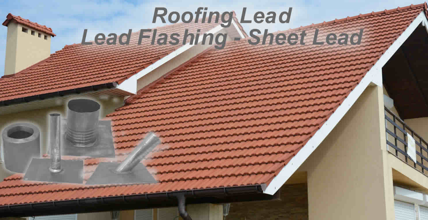 Lead roof flashing and lead sheet
