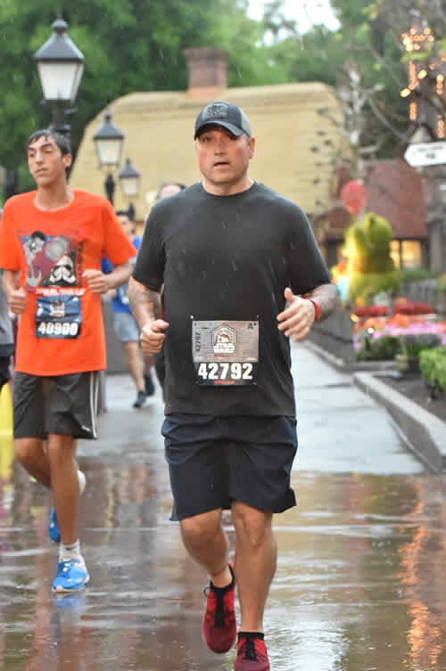 Bill Disney at the Star Wars Run